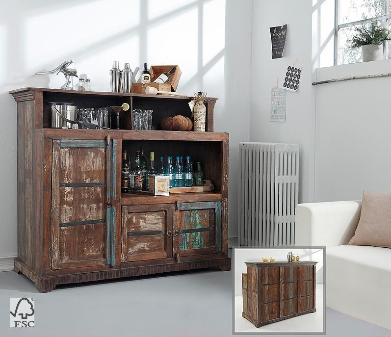 bar mit aufsatz 3 t ren 3727 himalaya m bel wolf. Black Bedroom Furniture Sets. Home Design Ideas