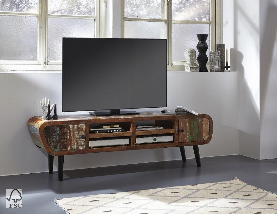 lowboard retro 2 t r 4 ablagen 3761 himalaya m bel wolf m bel w rzburg schweinfurt. Black Bedroom Furniture Sets. Home Design Ideas