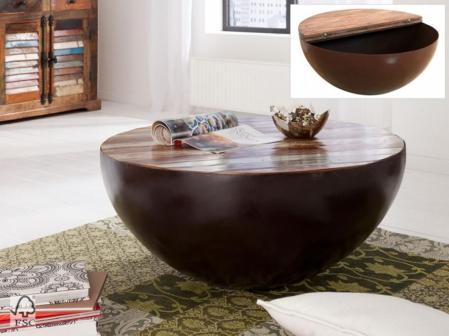 couchtisch rund mit eisen 90x90 3790 himalaya m bel wolf m bel w rzburg schweinfurt. Black Bedroom Furniture Sets. Home Design Ideas