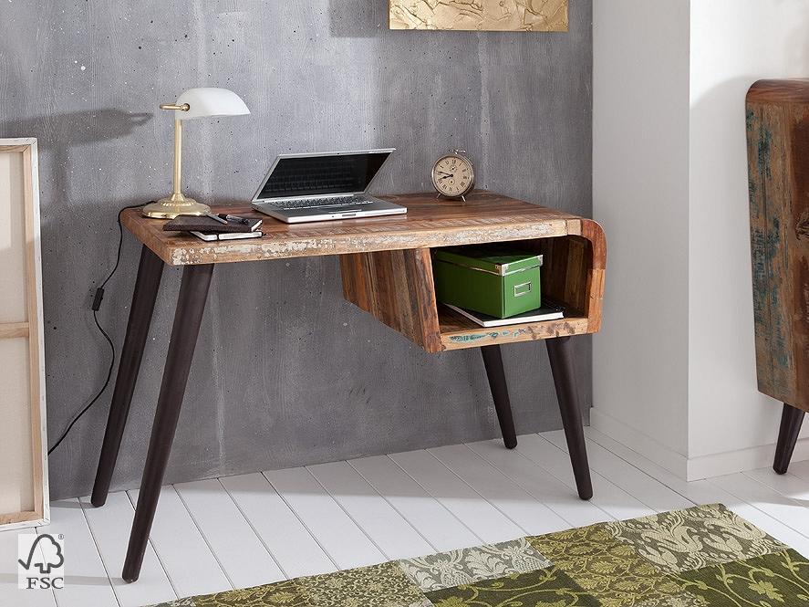 Schreibtisch Retro mit 1 Ablage | 3798 | HIMALAYA | Möbel | WOLF ...